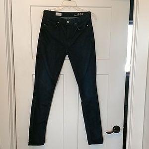 Gap jeans 26 long high rise skinny